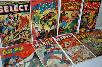 Golden age comic books can be worth a lot of money.